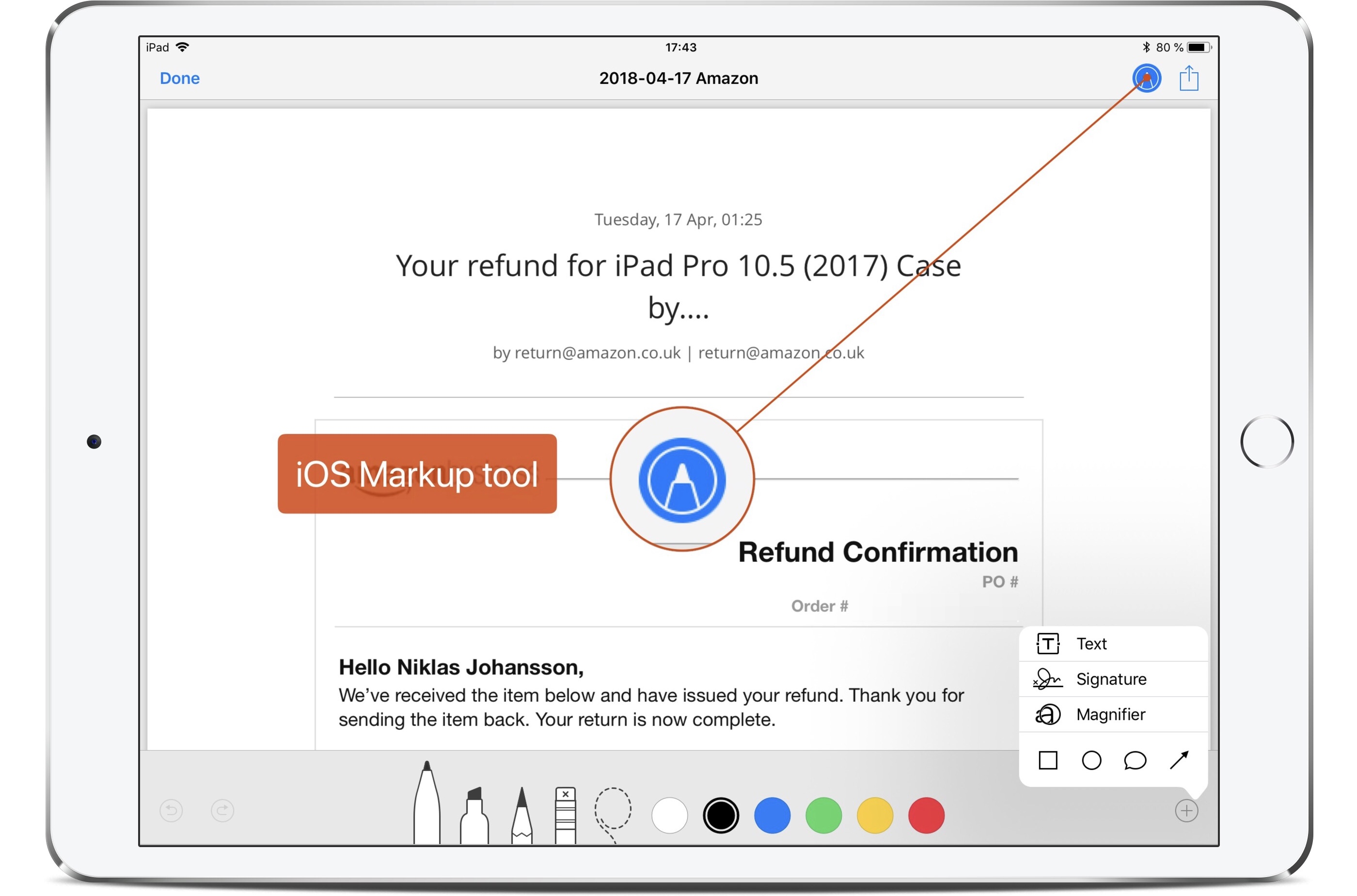 how to sign pdf s on ipad and iphone